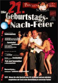 21. GEBURTSTAGS-NACHFEIER