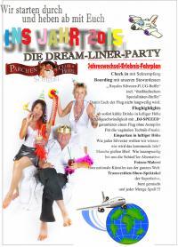 Große Silvester Gala die DREAM-LINER-PARTY