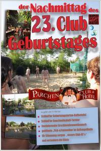 der NACHMITTAG unseres 23. CLUB-GEBURTSTAGES