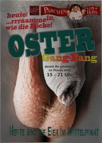 OSTER, bzw. das EIER-GANGBANG
