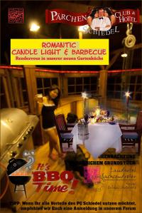 Romantic-Candle-Light & Barbecue