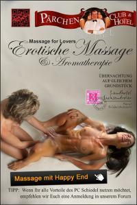 EROTISCHE MASSAGE & Aromatherapie, die Massage mit Happy End